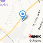 Эридан на карте Берёзовского