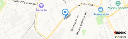 Центр детского творчества на карте Берёзовского