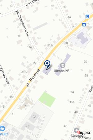 ЦЕНТР ДЕТСКОГО ТВОРЧЕСТВА на карте Березовского