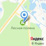 Лесная Поляна на карте Берёзовского