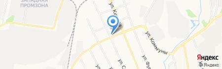 ГИБДД при ОВД по Березовскому городскому округу на карте Берёзовского