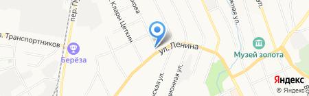 Россельхозбанк на карте Берёзовского
