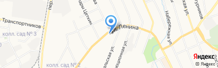 Матрикс на карте Берёзовского