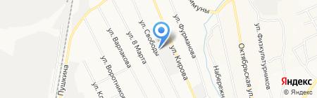 Еврокраски-ЕК на карте Берёзовского
