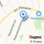 Камнерез на карте Берёзовского