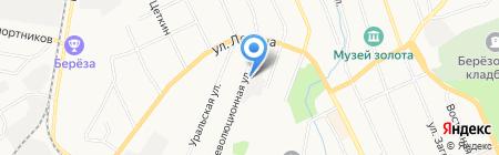 Авангард на карте Берёзовского