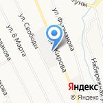 Гёктурк на карте Берёзовского
