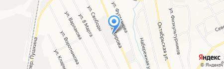Ремонтная мастерская на карте Берёзовского