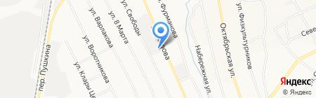 Уралмед-мебель на карте Берёзовского