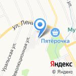 Мави на карте Берёзовского