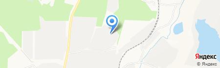 ПОЛИМЕТ на карте Берёзовского