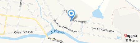 Детский сад №58 на карте Большого Истока