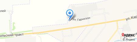 Уральская ватная компания на карте Арамиля