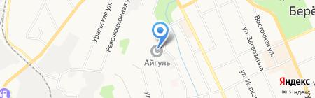 Айгуль на карте Берёзовского