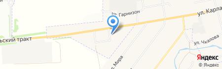 ЮНТА на карте Арамиля