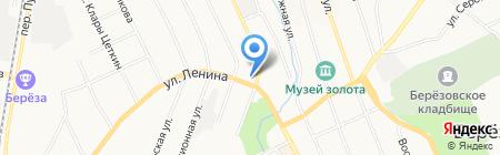 Лазурит Е на карте Берёзовского