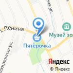 Пятерочка на карте Берёзовского