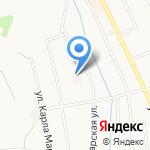 Ветеринарная станция на карте Берёзовского