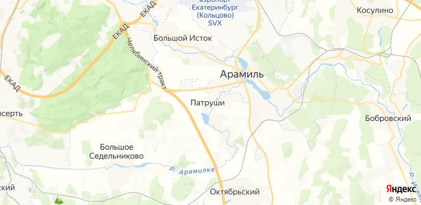 Патруши на карте
