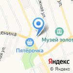 Корпорация Центр на карте Берёзовского