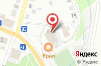 Схема проезда до компании Корпорация Центр в Берёзовском