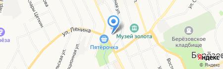Столет на карте Берёзовского