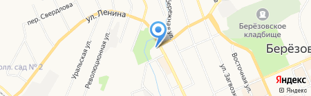 Кофе с собой на карте Берёзовского