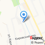 Березовский центр занятости на карте Берёзовского