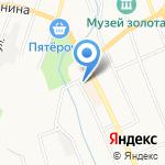 Березовское городское общество охотников и рыболовов на карте Берёзовского