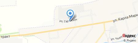 Спорт-бар на ул. Гарнизон на карте Арамиля