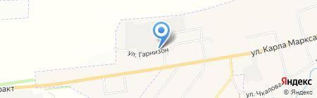Арамильский авиационный ремонтный завод на карте Арамиля