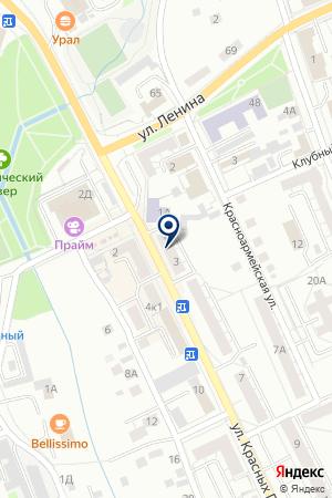АКТИВ ПЛЮС на карте Березовского