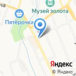 Уралнет на карте Берёзовского