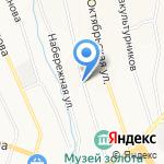 Тритатуша на карте Берёзовского
