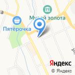 Урал Рост на карте Берёзовского