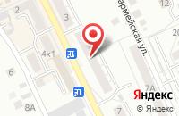 Схема проезда до компании Квант в Берёзовском