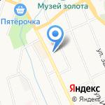 Парикмахерская на карте Берёзовского