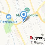 Средняя общеобразовательная школа №33 на карте Берёзовского