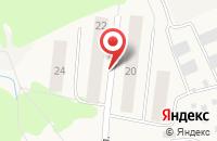 Схема проезда до компании Солнечный в Патрушах