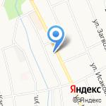Автозапчасти 222 на карте Берёзовского