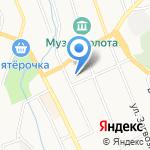 АСТРОЙ на карте Берёзовского