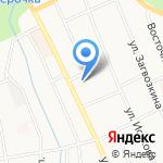 Почтовое отделение на карте Берёзовского
