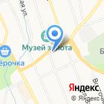 ЮНАДО Плюс на карте Берёзовского