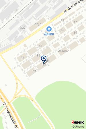 Магазин интерьерного освещения Светомир на карте Екатеринбурга