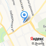Адвокатский кабинет Забелина Е.В. на карте Берёзовского
