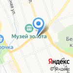 Автостоянка на карте Берёзовского