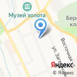 Деревенский на карте Берёзовского