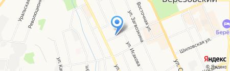 Магазин сувениров на карте Берёзовского
