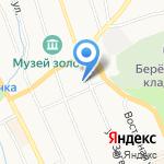 Берёзовский городской суд на карте Берёзовского