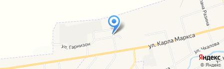 НСПС на карте Арамиля